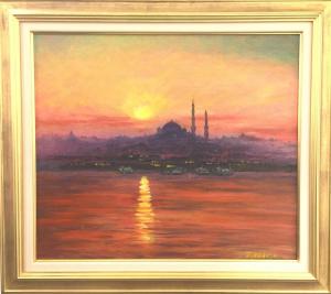イスタンブールの夕照2